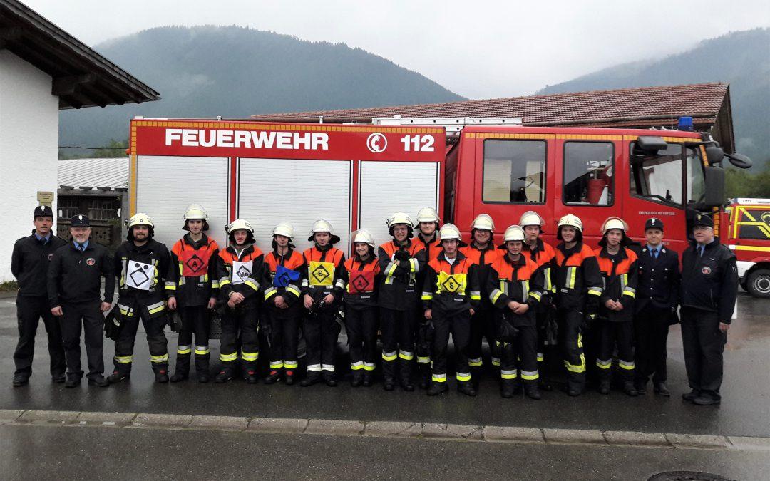 Leistungsabzeichen für 14 unserer Feuerwehrfrauen und Männer